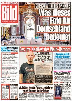 Bild-Zeitung 15. Juli 2020