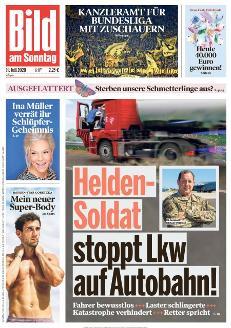 Bild-Zeitung 19. Juli 2020