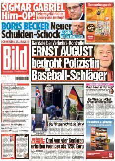 Bild-Zeitung 23. Juli 2020