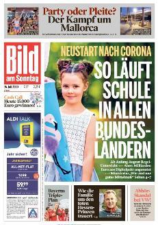 Bild-Zeitung 26. Juli 2020