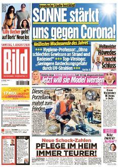 Bild-Zeitung 1. August 2020