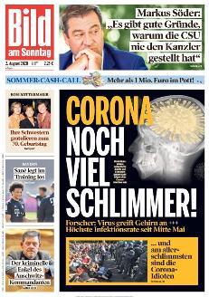 Bild-Zeitung 2. August 2020