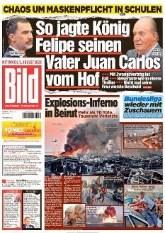 Bild-Zeitung 5. August 2020