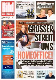 Bild-Zeitung 9. August 2020