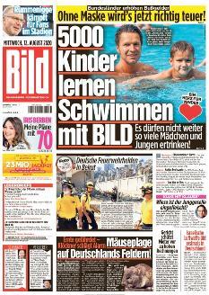 Bild-Zeitung 12. August 2020