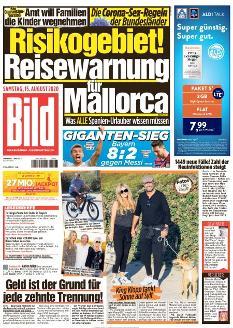 Bild-Zeitung 15. August 2020