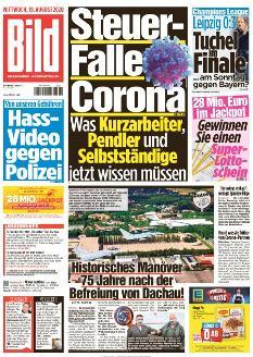 Bild-Zeitung 19. August 2020