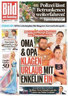 Bild-Zeitung 23. August 2020