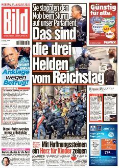 Bild-Zeitung 31. August 2020
