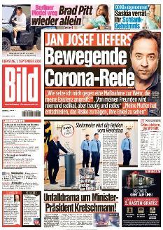 Bild-Zeitung 1. September 2020