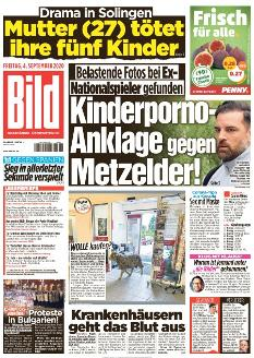 Bild-Zeitung 4. September 2020