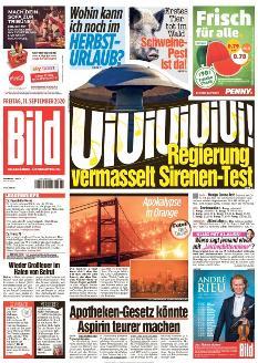 Bild-Zeitung 11. September 2020