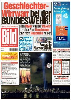 Bild-Zeitung 12. September 2020