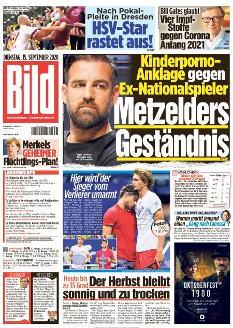 Bild-Zeitung 15. September 2020