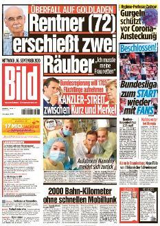 Bild-Zeitung 16. September 2020