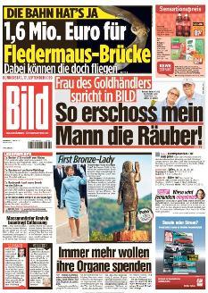 Bild-Zeitung 17. September 2020