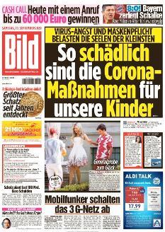 Bild-Zeitung 19. September 2020