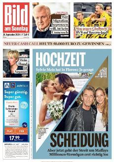 Bild-Zeitung 20. September 2020