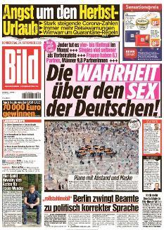 Bild-Zeitung 24. September 2020