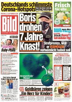 Bild-Zeitung 25. September 2020