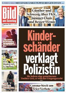 Bild-Zeitung 27. September 2020