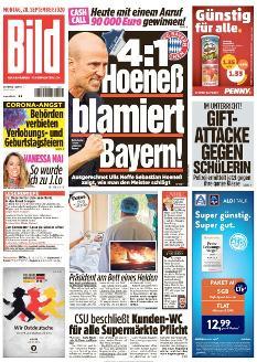 Bild-Zeitung 28. September 2020