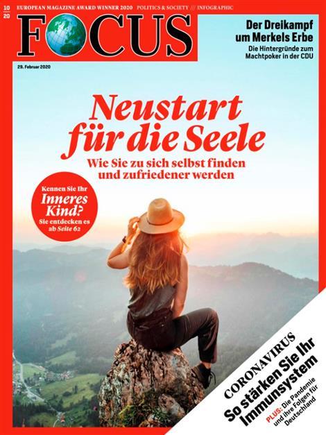 Cover Focus-Zeitschrift 10 2020