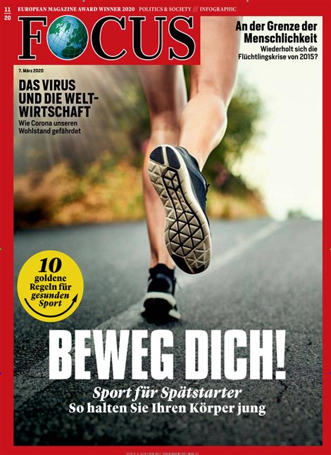 Cover Focus-Zeitschrift 11 2020
