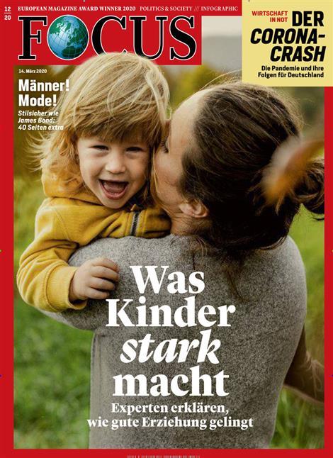 Cover Focus-Zeitschrift 12 2020