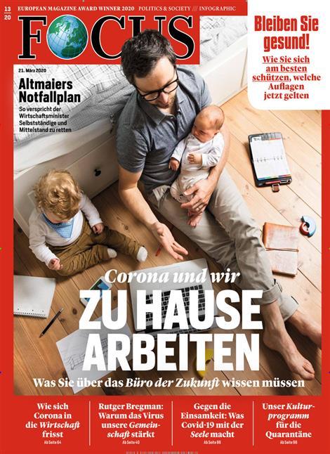 Cover Focus-Zeitschrift 13 2020