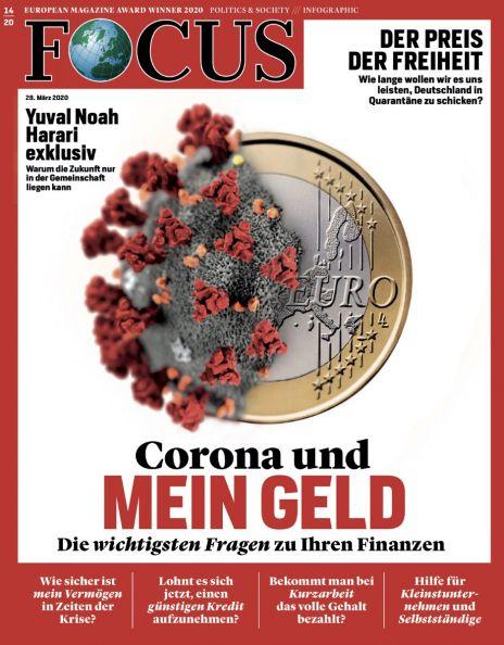 Cover Focus-Zeitschrift 14 2020