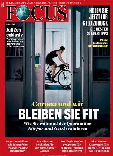 Cover Focus-Zeitschrift 15 2020