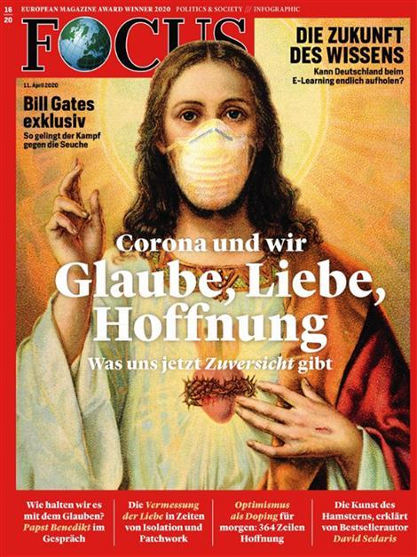 Cover Focus-Zeitschrift 16 2020