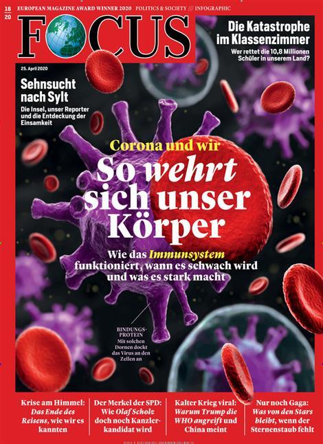 Cover Focus-Zeitschrift 18 2020
