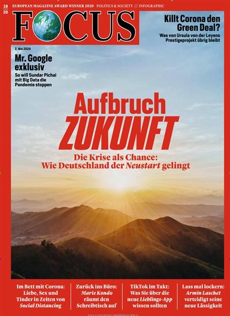 Cover Focus-Zeitschrift 19 2020