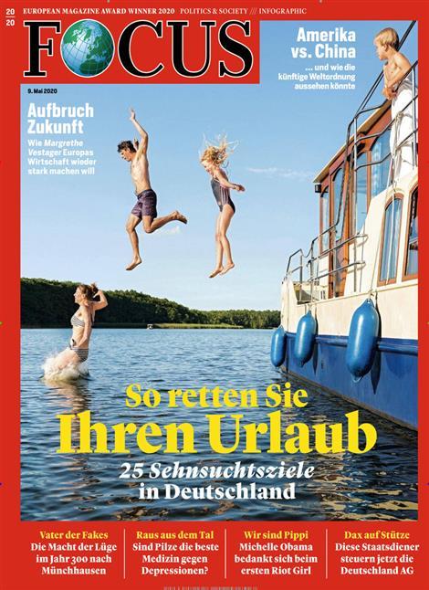 Cover Focus-Zeitschrift 20 2020