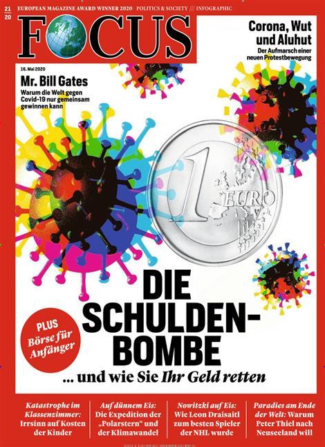 Cover Focus-Zeitschrift 21 2020