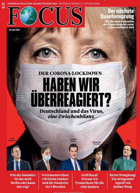 Cover Focus-Zeitschrift 23 2020