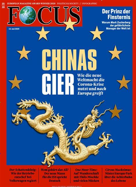 Cover Focus-Zeitschrift 25 2020