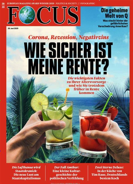 Cover Focus-Zeitschrift 26 2020