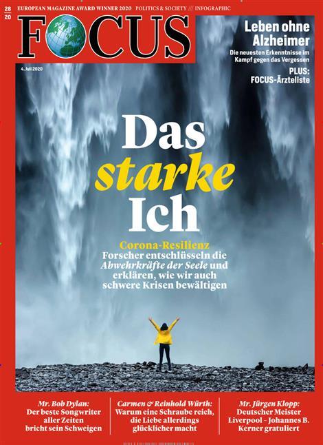 Cover Focus-Zeitschrift 28 2020