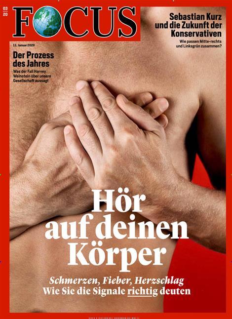 Cover Focus-Zeitschrift 3 2020