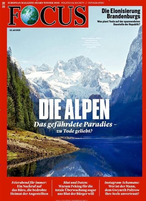 Cover Focus-Zeitschrift 30 2020