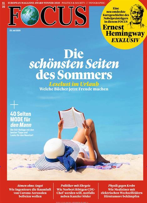 Cover Focus-Zeitschrift 31 2020