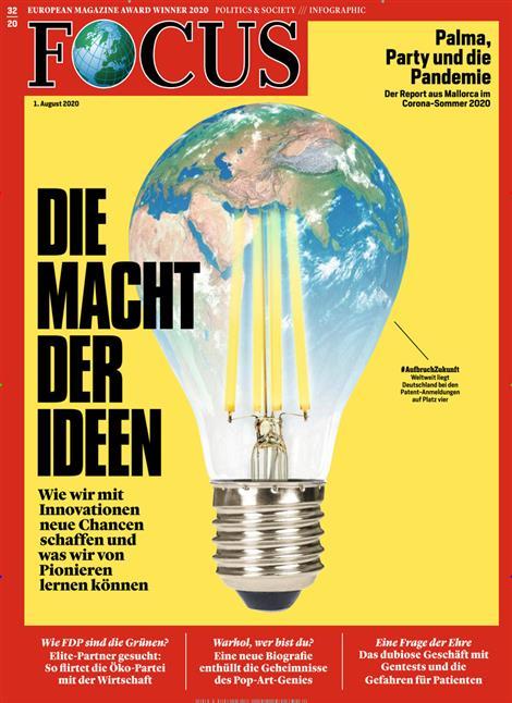 Cover Focus-Zeitschrift 32 2020
