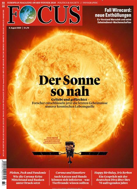 Cover Focus-Zeitschrift 33 2020