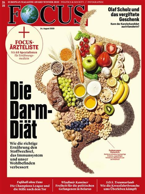 Cover Focus-Zeitschrift 34 2020
