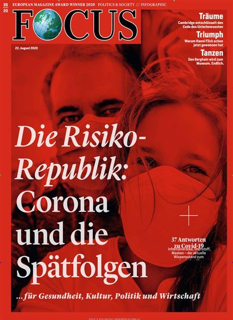 Cover Focus-Zeitschrift 35 2020