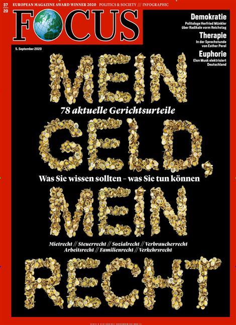 Cover Focus-Zeitschrift 37 2020