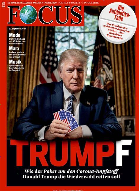 Cover Focus-Zeitschrift 38 2020